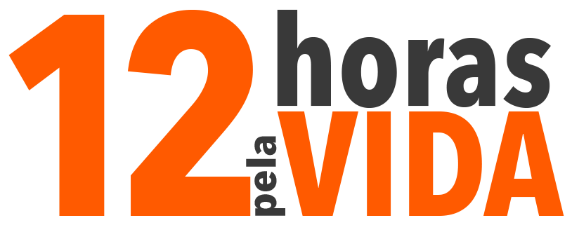 logotipo 12 horas pela vida